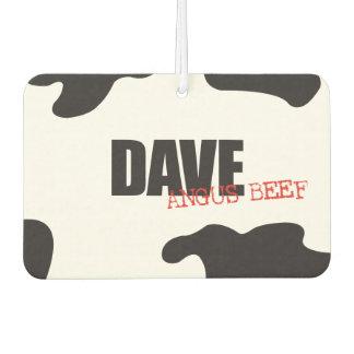 "Dave ""Angus Beef"" Trendy Air Freshener"