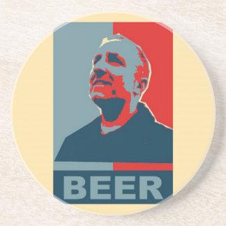 Dave Beer Coaster 2012 - Sandstone