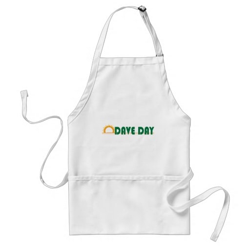 Dave Day (White) Adult Apron