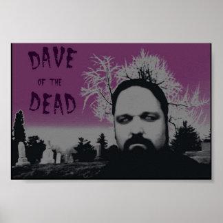 Dave de los muertos póster