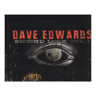 """Dave Edwards - """"Second Look"""" - Tour 2007 Card"""