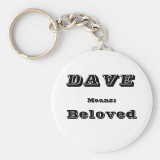 Dave Keychain