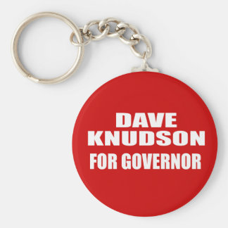 DAVE KNUDSON FOR GOVERNOR KEYCHAINS