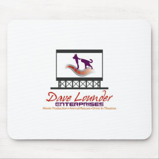 Dave Lounder Enterprises LOGO MOUSE PAD