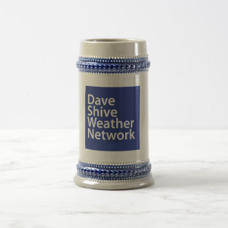 Dave Shive Weather Network Stein