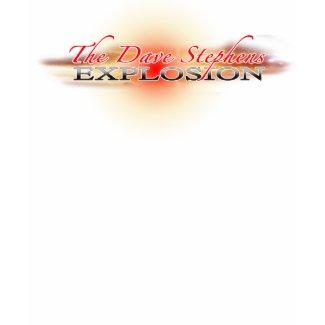 Dave Stephens Explosion Logo shirt