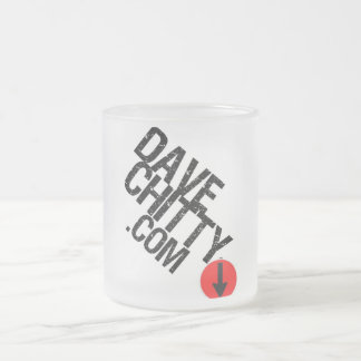 DAVECHITTYCOMbeer Frosted Glass Coffee Mug