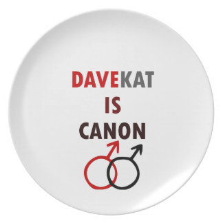 Davekat Is Canon (v1) Plate