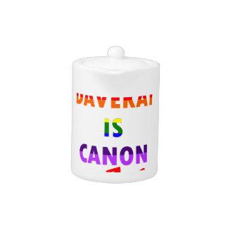 Davekat Is Canon (v2) Teapot
