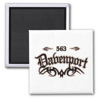 Davenport 563 magnet