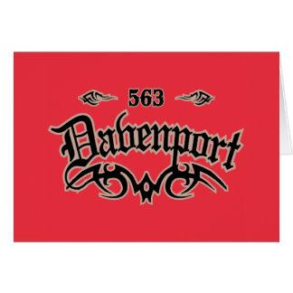 Davenport 563 tarjetas