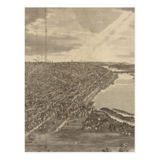 Davenport, Iowa, as seen from south west Postcard