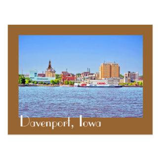 Davenport Iowa los E E U U Postales