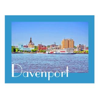 Davenport Iowa los E E U U Tarjetas Postales
