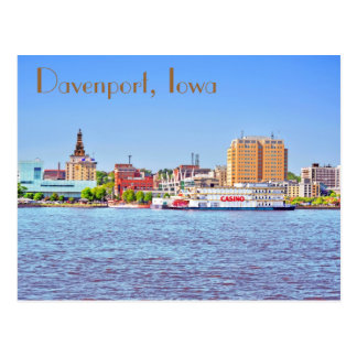 Davenport, Iowa, U.S.A. Postcard