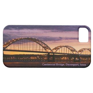 Davenport, Iowa's Centennial Bridge iPhone 5 Case