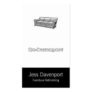 Davenport or Sofa Business Card