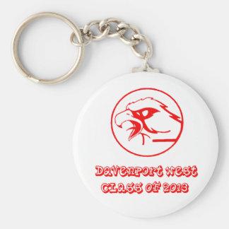 Davenport west class of 2013 keychain