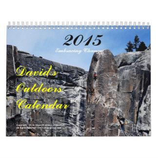 Dave's 2015 Outdoors Calendar