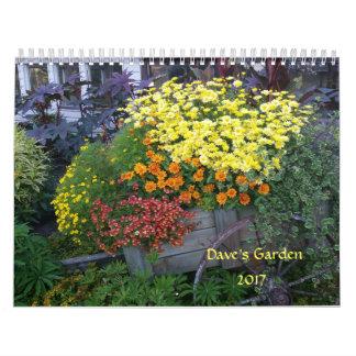 Dave's Garden 2017 Calendar