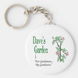 Dave's Garden key chain