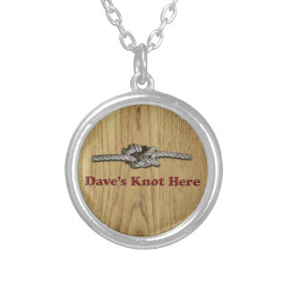 Dave's Knot Here SHORT - Multi-Products Silver Plated Necklace