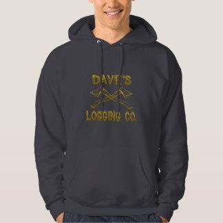 Dave's Logging Company Hoodie