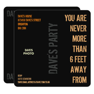 DAVE's Party Card