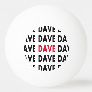 Dave's Ping Pong Ball Template