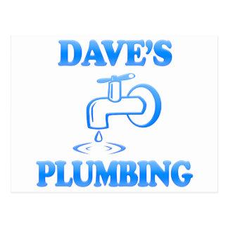 Dave's Plumbing Postcard