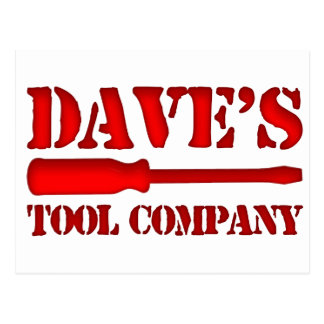 Dave's Tool Company Postcard