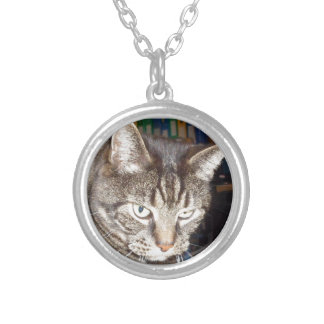 Dave's Watching You Silver Plated Necklace