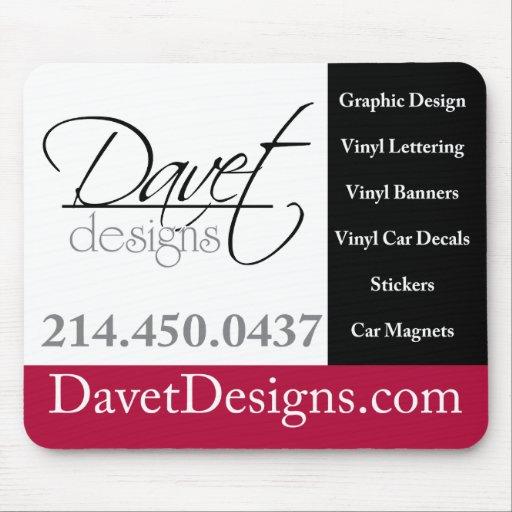 Davet Designs Mousepad