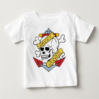 Davey Jones Tattoo Baby T-Shirt