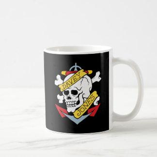 Davey Jones Tattoo Coffee Mug