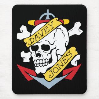 Davey Jones Tattoo Mouse Pad