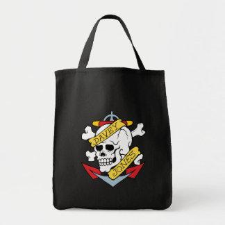 Davey Jones Tattoo Tote Bag