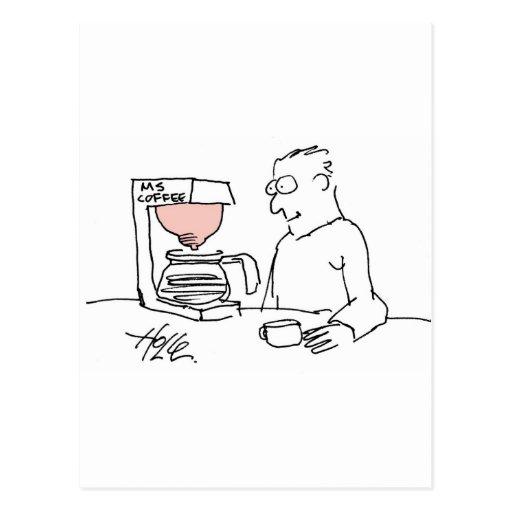 davhelle mscoffee postcard