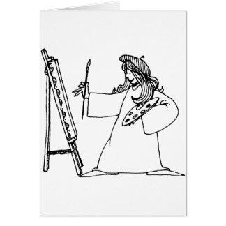 davholle artist card