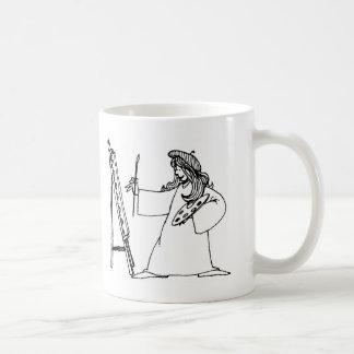 davholle artist coffee mug