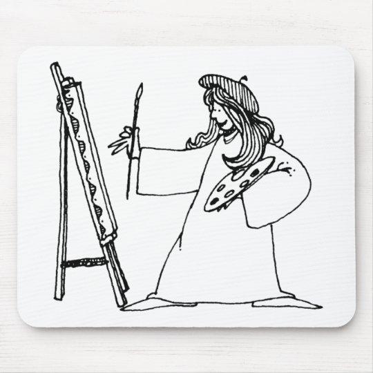 davholle artist mouse pad
