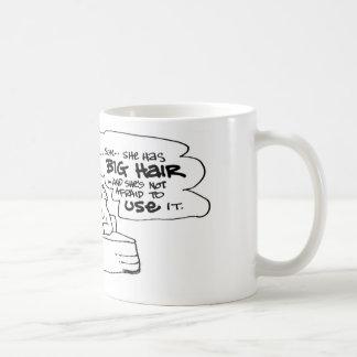 davholle big hair coffee mugs