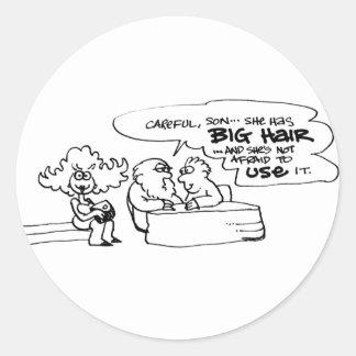 davholle big hair stickers