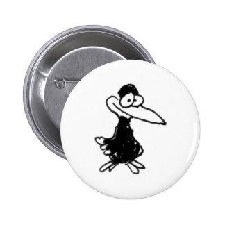 davholle black bird pin