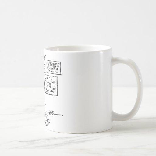davholle diplomas classic white coffee mug