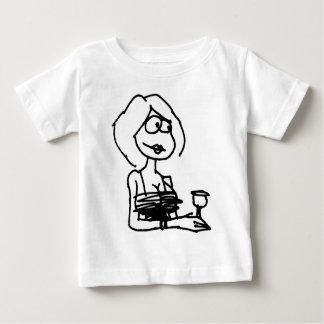 davholle girl drink baby T-Shirt