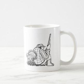 davholle hunter turkey coffee mug