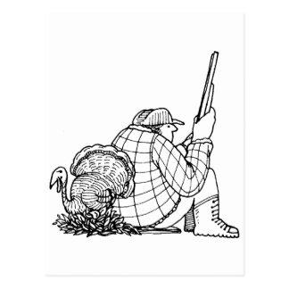 davholle hunter turkey post cards