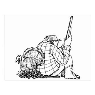 davholle hunter turkey postcard