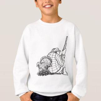 davholle hunter turkey sweatshirt